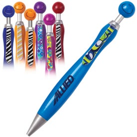 Swanky Pen with Your Slogan