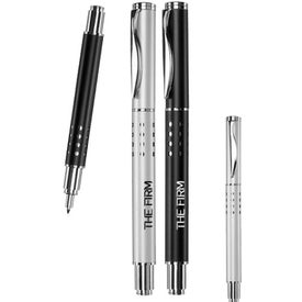 Swerve Clip Metal Rollerball Pen