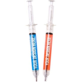 Plastic Syringe Pen
