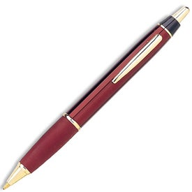 Promotional Taurus Ballpoint Pen with Gold Trim