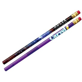 Thrifty Pencil with Eraser (Full Color Logo, No Quick Ship)