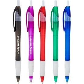 Gripped Slimster Pen (Translucent)