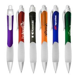 Printed Translucent Mykonos Pen