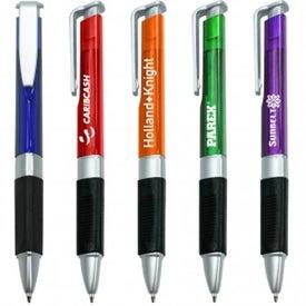 Monogrammed Triangle Comfort Grip Pen