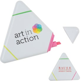 Triangle Highlighter Pen with Your Logo