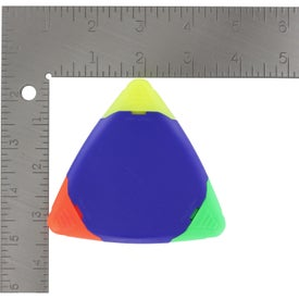 TriMark Triangular Highlighter Printed with Your Logo