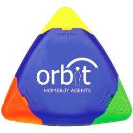 TriMark Triangular Highlighter for Marketing