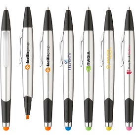 Trinity Highlighter Stylus Ballpoint Pen