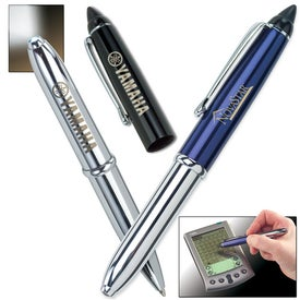 Triplet Lighted Pen with PDA Stylus for your School