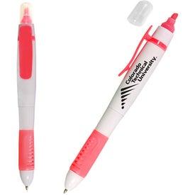 Customized White Sands Pen/Highlighter