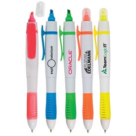 White Sands Pen/Highlighter with Your Slogan