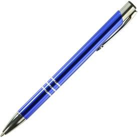 Monogrammed Wolverine Metal Pen