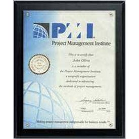 Certificate Holder and Overlay Plaques (6
