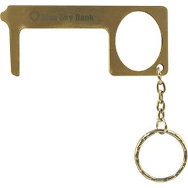 Brass Door Opener Touch Tools