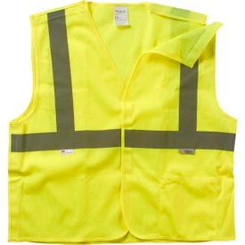 Xtreme Visibility 5-Point Breakaway Class 2 Safety Vests (Unisex)