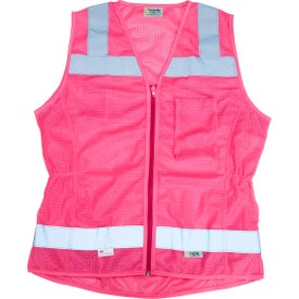 Xtreme Visibility Fitted Non-ANSI Zip Safety Vests (Women''s)