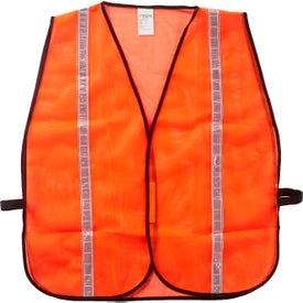 Xtreme Visibility Reflective Safety Vests (Unisex, Orange)