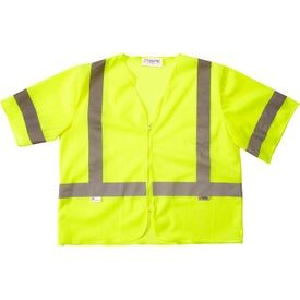Xtreme Visibility Value Class 3 Zip Safety Vests (Unisex)