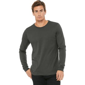 Bella+Canvas Unisex Jersey Long Sleeve T-Shirt (Men's, Colors)