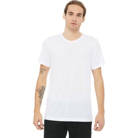 Bella+Canvas Unisex Triblend T-Shirt (Men's, White Fleck Triblend and Solid White Triblend)