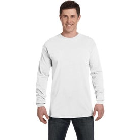 Comfort Colors Adult Heavyweight RS Long-Sleeve Shirts (Men''s, White)