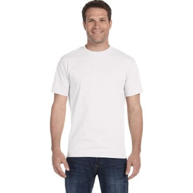 Gildan Adult 50/50 T-Shirts (Men''s, White)