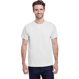 Gildan Adult Heavy Cotton T-Shirts (Men''s, White)