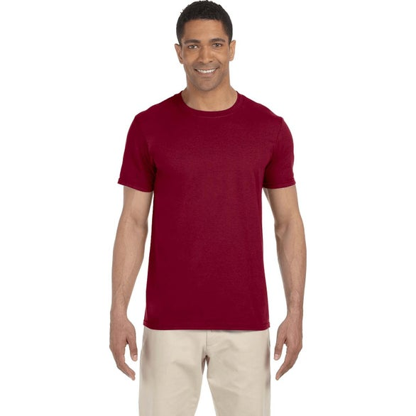 Antique Cherry Red Gildan Adult Softstyle T-Shirt