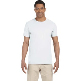 Gildan Adult Softstyle T-Shirts (White)