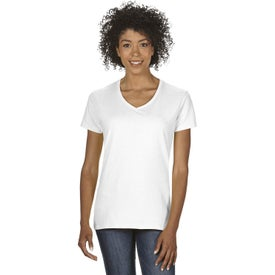 Gildan Heavy Cotton V-Neck T-Shirts (Women's)