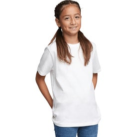 Next Level Cotton Crew T-Shirts (Youth, White)