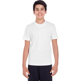 Team 365 Zone Performance T-Shirts (Youth, White)