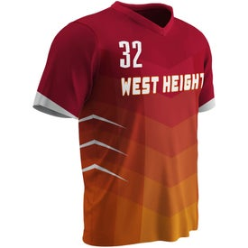 V-Neck Short Sleeve Jerseys