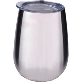 Stainless Steel Stemless Wine Glasses (10 Oz.)