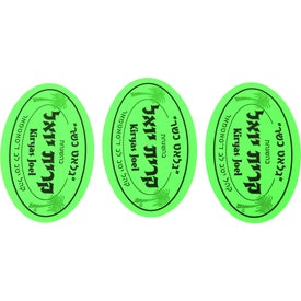 """2"""" x 3"""" Oval Custom Label for Your Organization"""
