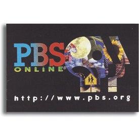 """Business Card Repo! Vinyl Sticker (2"""" x 3-1/2"""")"""