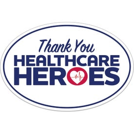 UNITE for The FIGHT Oval Bumper Sticker - Healthcare Heroes