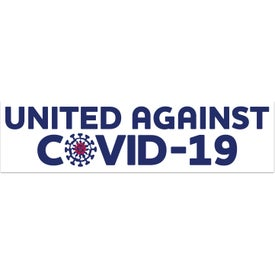 UNITE for The FIGHT Rectangle Bumper Sticker - United Against COVID-19s