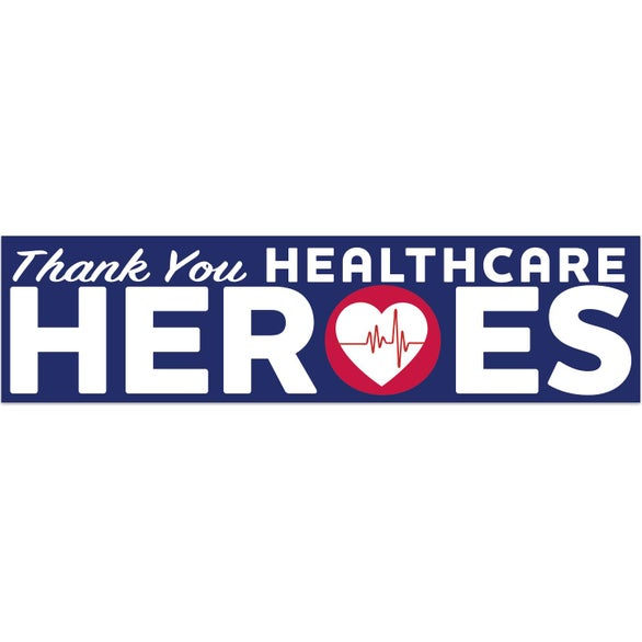 Blue UNITE for The FIGHT Rectangle Bumper Sticker - Healthcare Heroes