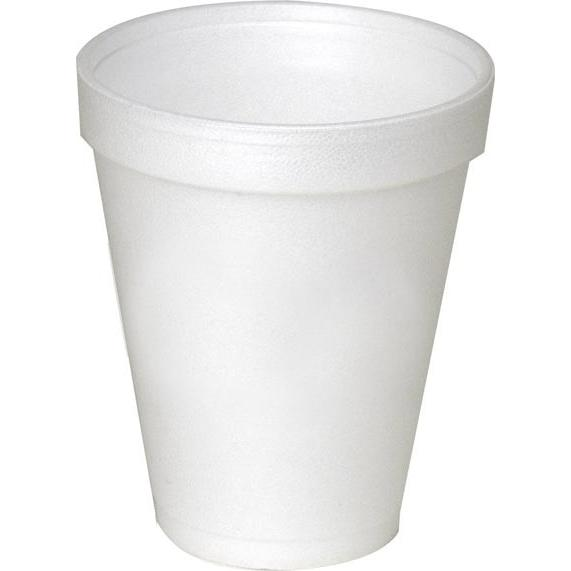 White Disposable Foam Cup