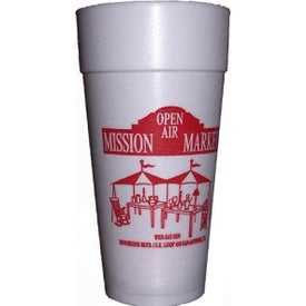 Styrofoam Hot or Cold Cup (24 Oz.)
