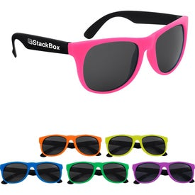 Kapowski Rubberized Sunglasses