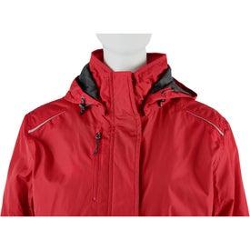 Imprinted Arden Fleece Lined Jacket by TRIMARK
