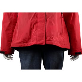 Arden Fleece Lined Jacket by TRIMARK Printed with Your Logo