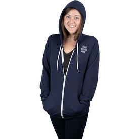 Bella+Canvas Sponge Fleece Full-Zip Hoodie (Unisex)