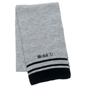 Deluxe Acrylic Scarf with Stripe for Promotion