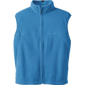 Doma Microfleece Vest by TRIMARK Printed with Your Logo