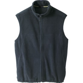 Doma Microfleece Vest by TRIMARK Imprinted with Your Logo