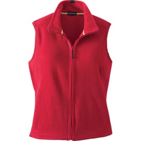 Doma Microfleece Vest by TRIMARK for Advertising