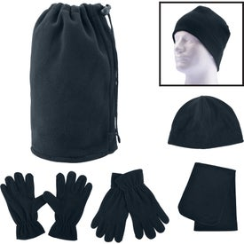 Fleece Winter Set in Pouch (Unisex)
